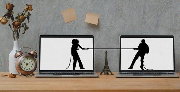 Streitereien bei der Scheidung - Bild: pixabay.com