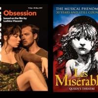 Theaterbesuche in London: Jude Law in »Obsession« und »Les Misérables« im 32. Bühnenjahr