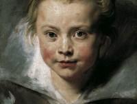 Pietro Paolo Rubens, Ritratto della filia Clara Serena, 1615-1616. Olio su tela applicata su tavola, 33x26,3 cm. Vienna, Palazzo Liechtenstein. The Princely Collection