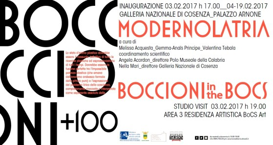 Boccioni+100 Modernolatria+Boccioni in the BoCS 03.02.2017
