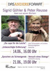 Lesung mit Sigrid Göhler-Reusse & Peter Reusse