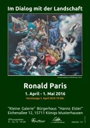Ronald Paris - Im Dialog mit der Landschaft