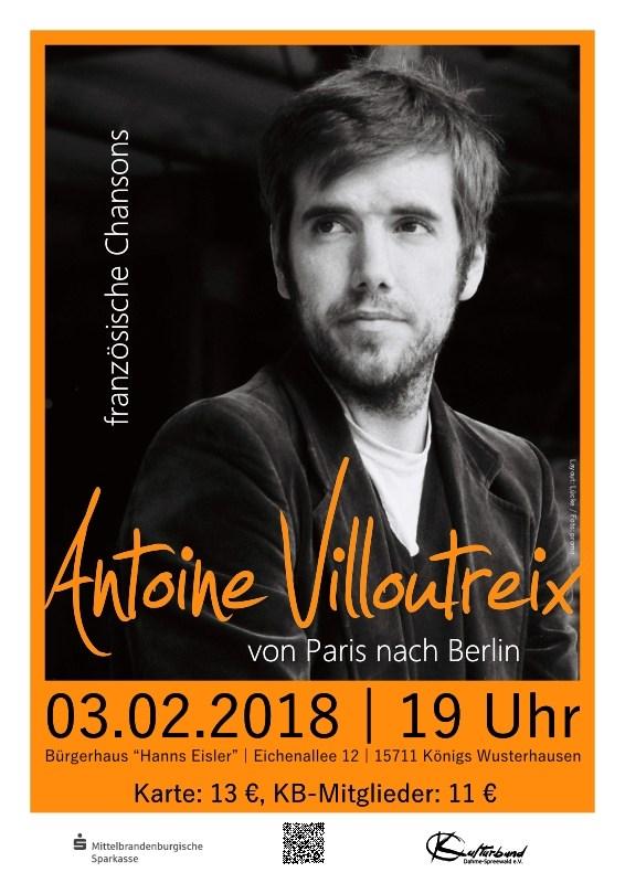 Antoine Villoutreix - Von Paris nach Berlin
