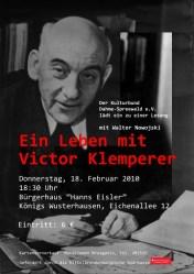 Ein Leben mit Victor Klemperer