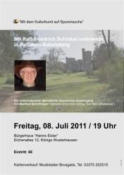 Mit Karl-Friedrich Schinkel unterwegs in Potsdam-Babelsberg