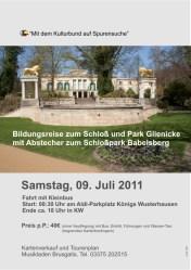 Auf Spurensuche in Schloß und Park Glienicke