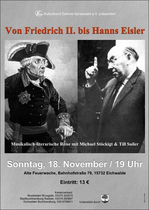 Von Friedrich II. bis Hanns Eisler