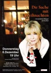 """Annekatrin Bürger liest """"Die Sache mit Weihnachten"""""""