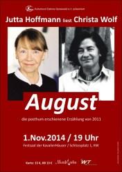 Jutta Hoffmann liest Christa Wolf