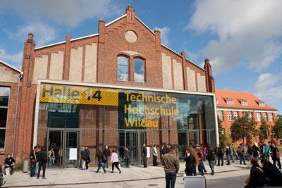 Wir präsentieren uns in der Technischen Hochschule Wildau