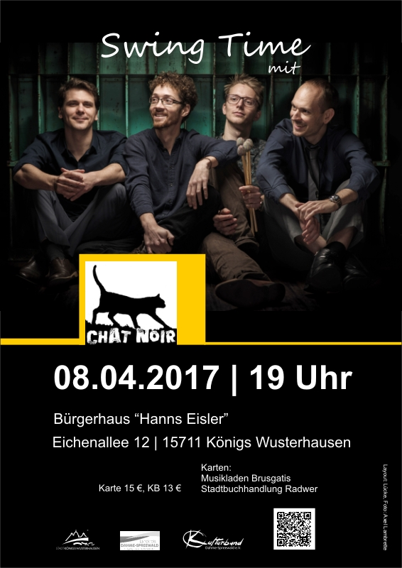 Swing-Konzert mit Chat Noir