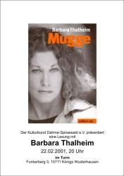 Barbara Thalheim liest