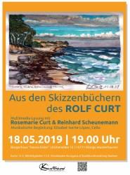 """Multimedia-Lesung: """"Aus den Skizzenbüchern des Rolf Curt"""""""