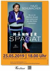 """Autorenlesung mit Dr. Hajo Schumacher """"Männerspagat"""""""