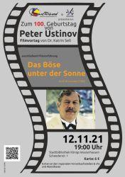Literatur & Film: Zum 100. Geburtstag von Peter Ustinov