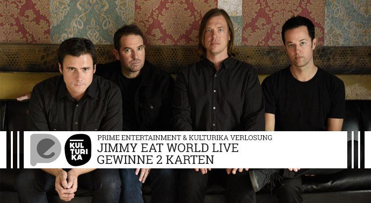 Verlosung von Tickets für das Konzert von Jimmy Eat World im E-Werk Koeln am 02-07-2017