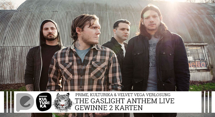 The Gaslight Anthem-Verlosung-Konzertkarten