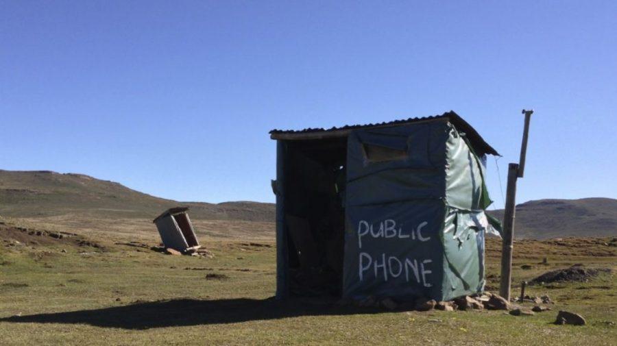 Sani Pass. Public Phone - 2013.