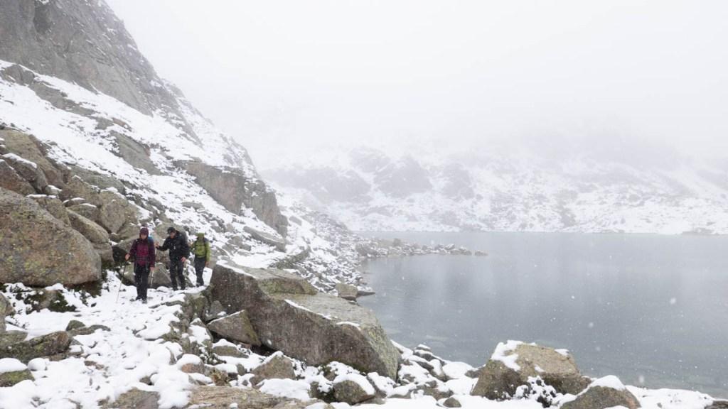 Winterstimmung im Sommer: am Estany Eixerola.