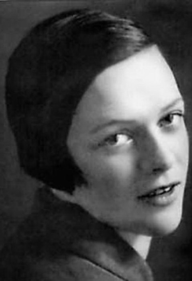 Татьяна Пельтцер в молодости