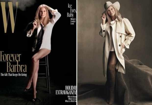 В 74 актриса и певица снялась для обложки журнала | Фото: woman.ru