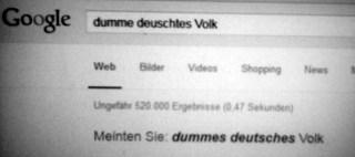 dummes deutsches Volk