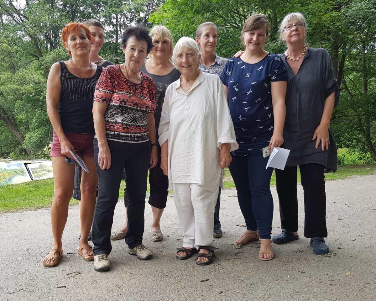 Malgruppe im Sommer – Rückblick Juli