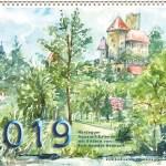Hardegger Aquarellkalender 2019