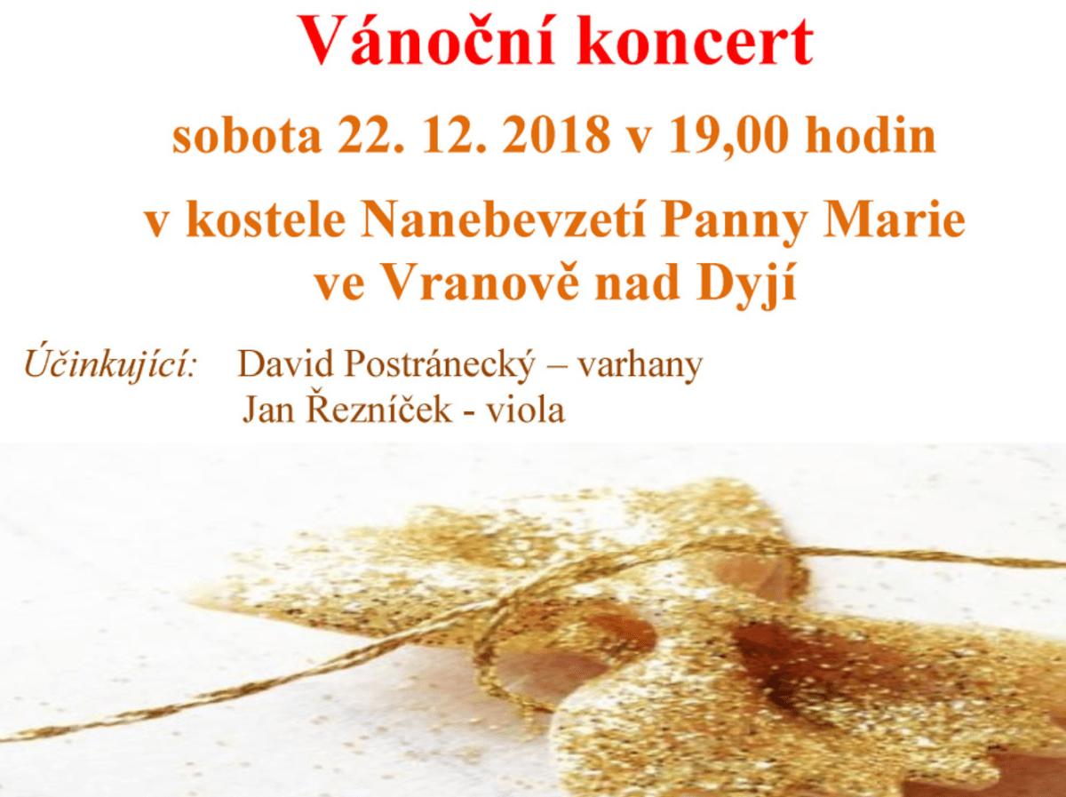 Weihnachtskonzert in Vranov