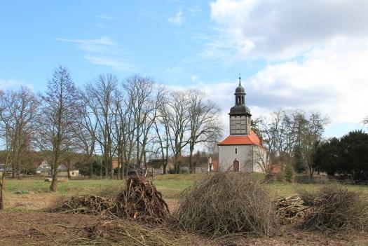 Streuobstwiese Dorfgarten Rieth Vorpommern