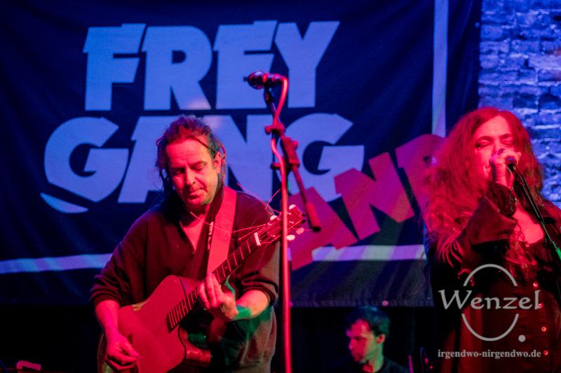 Freygang – der Blues muss bewaffnet sein