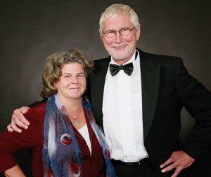 Heinz Heinrich Rohde mit Silke Detlefs