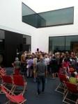 Andrang am Freitagabend bei der Eröffnung des LWL-Museums für Kunst und Kultur.