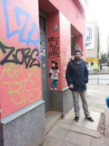 Streetart in Hamburg: Sebastian Hartmann erklärt uns die Unterschiede und zeigt uns verschiedene Streetarts.