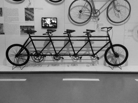 Das Fahrrad. Kultur, Technik, Mobilität. Sonderausstellung bis zum 1. März 2015 im Museum der Arbeit. Hamburg.