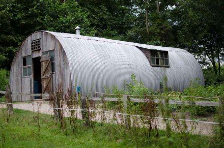 Nissenhütte im Freilichtmuseum am Kiekeberg