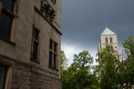 Der Altbau des LWL-Museums für Kunst und Kultur