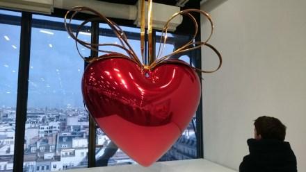 "Jeff Koons: ""Hanging Heart"" (Red/Gold), 1994-2006 (Celebration)"