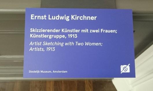In der Ausstellung ImEx gab es explizite Hinweise auf den Schildern, welche Werke nicht fotografiert werden durften.