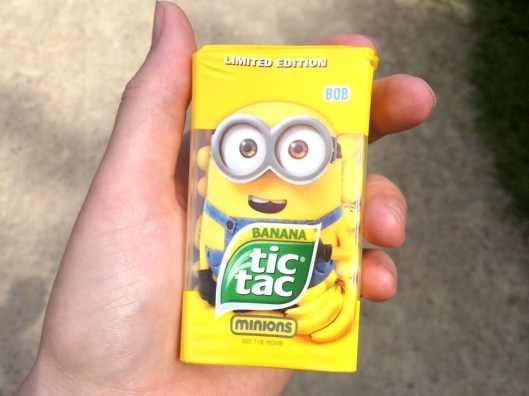 tic tac und die Minions  Foto: Kimberley Borgstedt