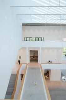Im Atrium der Kunsthalle Mannheim