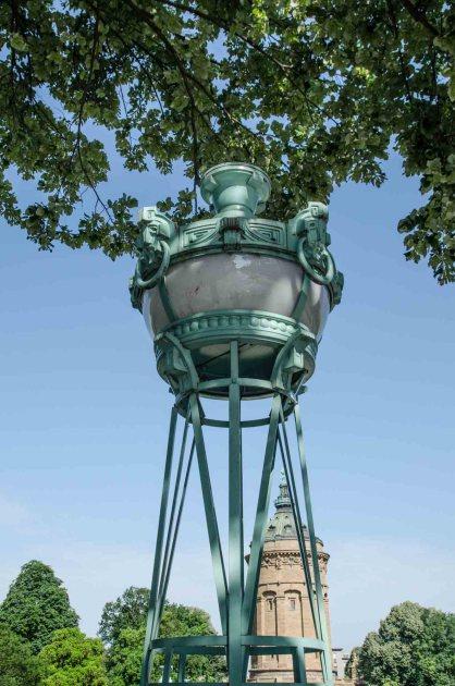 Jugendstilensemble um den Wasserturm