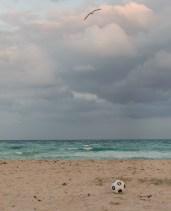 Blick auf den Nord Atlantischen Ozean - Miami Beach