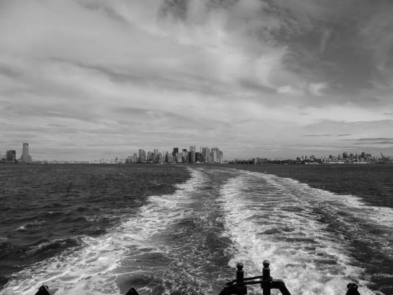 Blick auf Upper Bay - New York