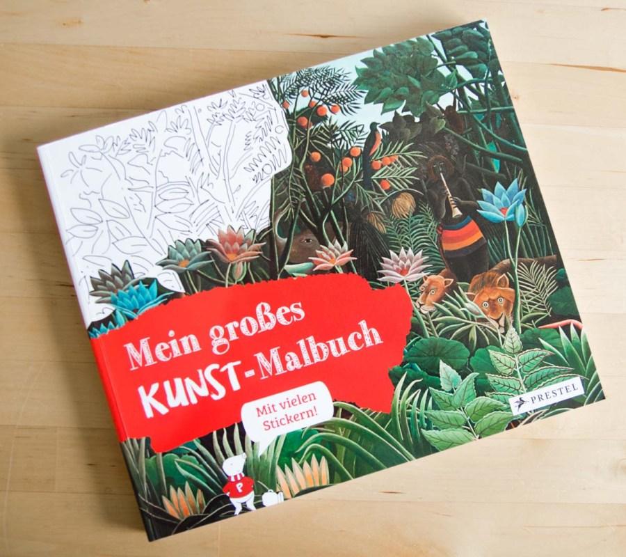 Mein großes Kunst-Malbuch
