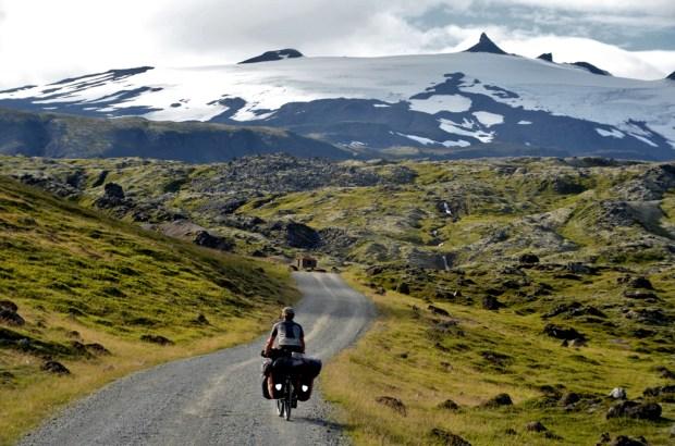 På vei mot Snæfellsjøkull