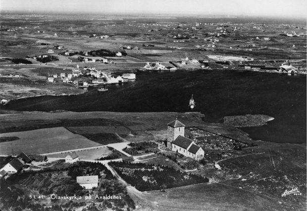 Avaldsnes i 1950