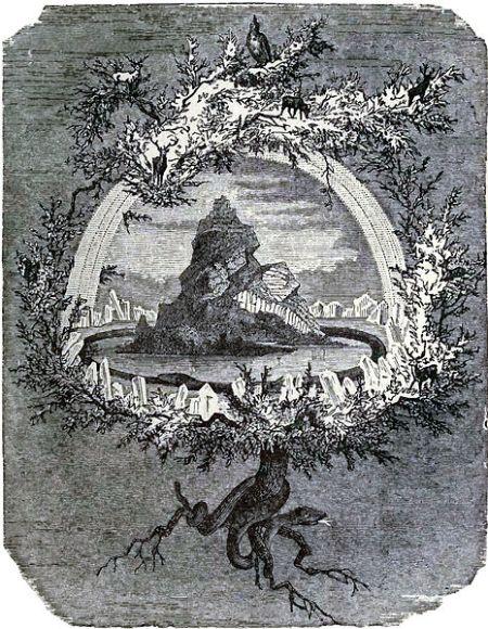 Yggdrasil - Friedrich Wilhelm Heine