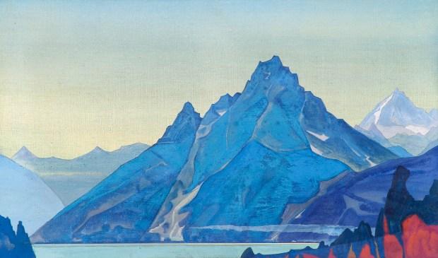 Lake of the Nagas - Nicholas Roerich