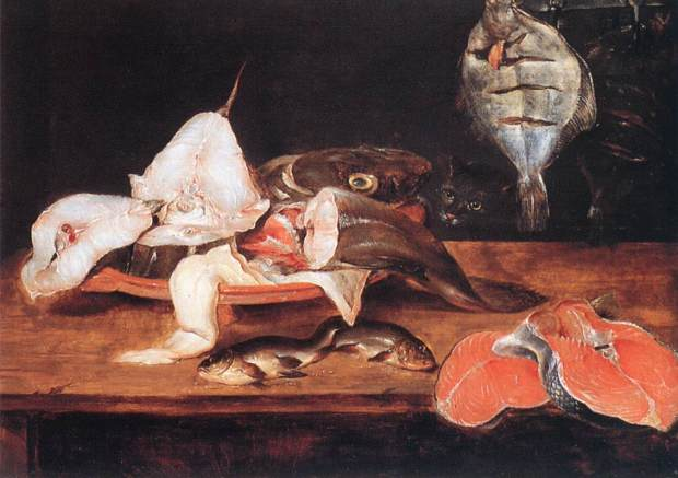 Alexander_Adriaenssen_-_Still-Life_with_Fish